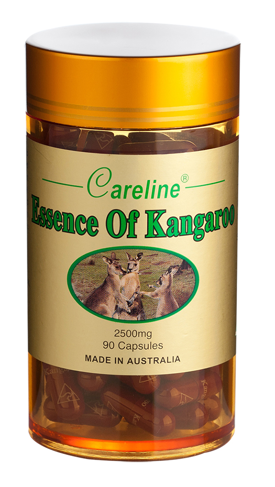 Careline Kangaroo Essence 2500mg Hgc (90'S Gold Jar/Boxed)