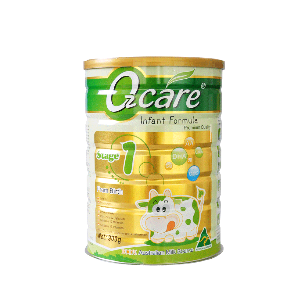 OZ Care Step 1 Infant Formula From Birth 900g
