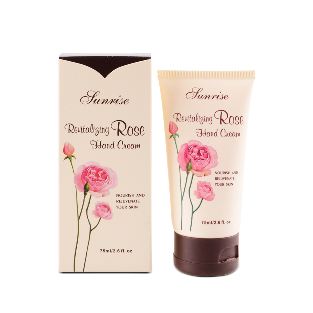 Sunrise Revitalizing Rose Hand Cream 75ml (Tube)