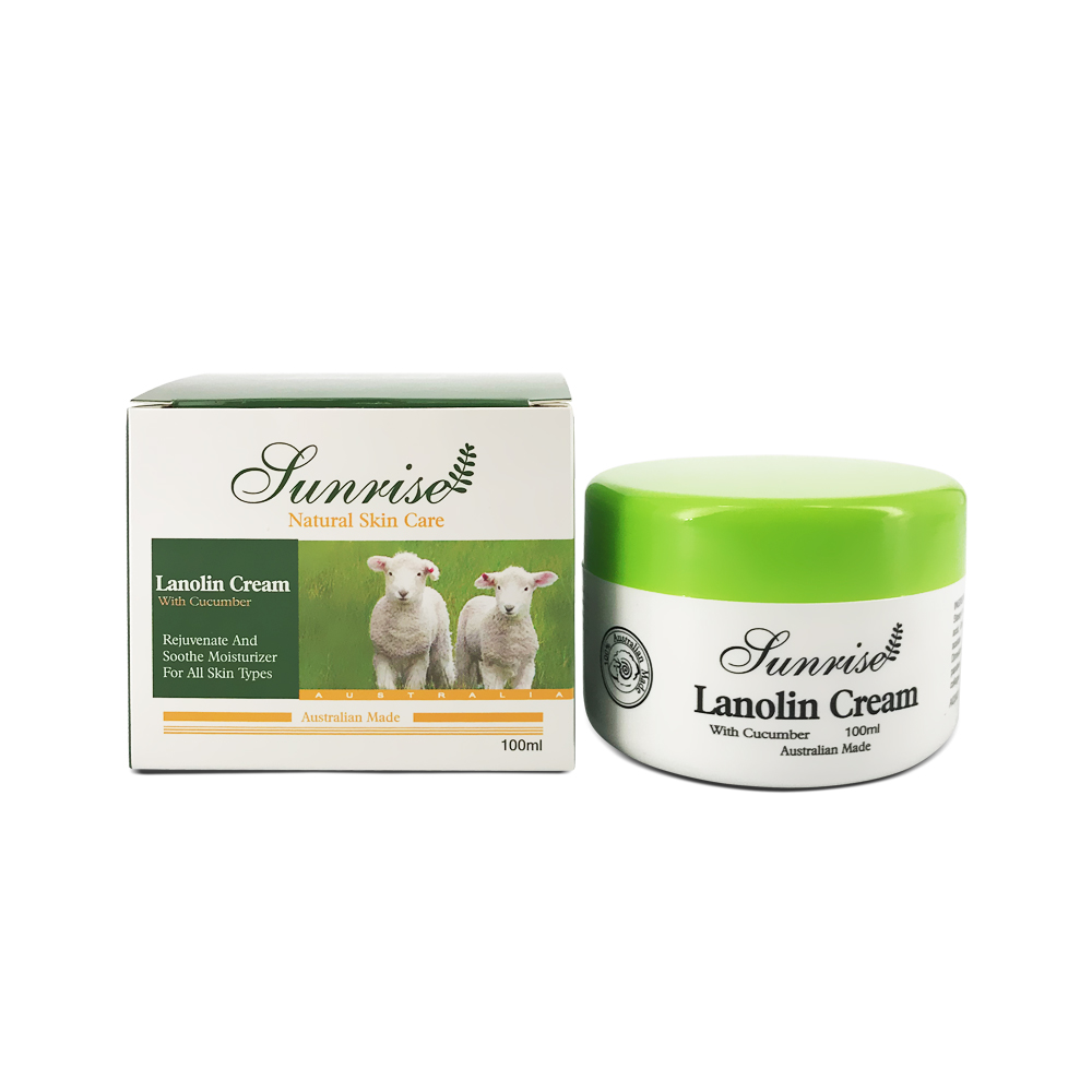 Sunrise Lanolin Cream with Cucumber 100ml