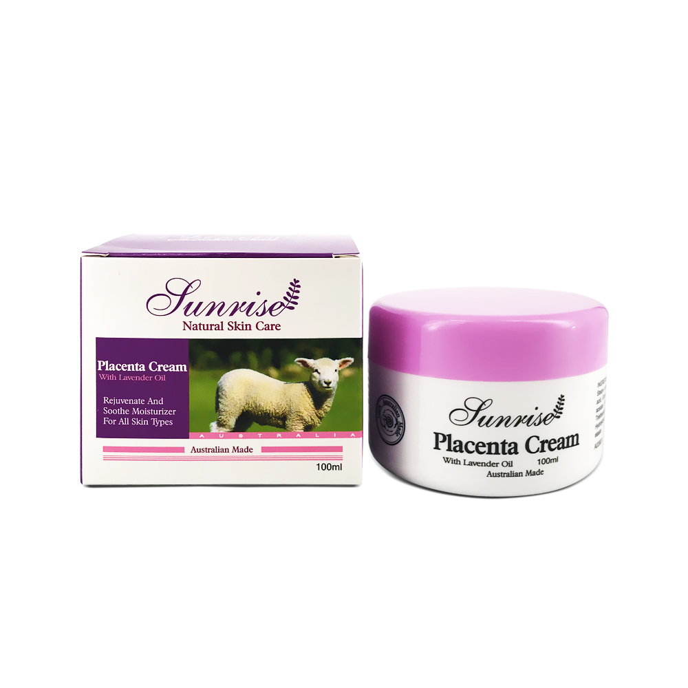 Sunrise Placenta Cream with Lavender Essential Oil 100ml